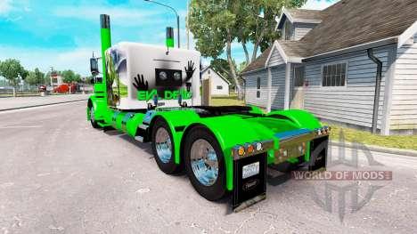Snake skin for the truck Peterbilt 389 for American Truck Simulator