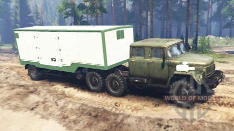 ZIL-131 [double cab] for Spin Tires