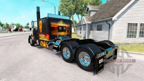 Underworld skin for the truck Peterbilt 389 for American Truck Simulator