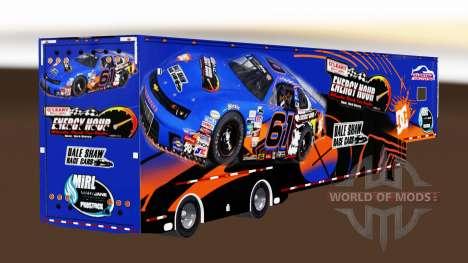 Trailer NASCAR v2.0 for American Truck Simulator