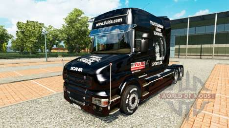 Fulda skin for truck Scania T for Euro Truck Simulator 2
