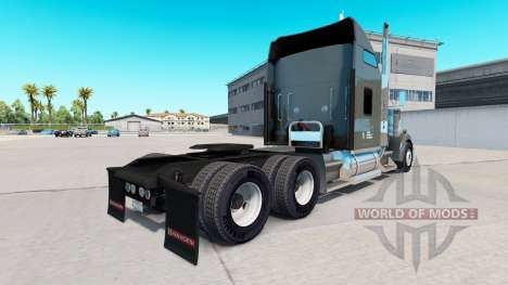 Skin on Knight Refrigerated truck Kenworth W900 for American Truck Simulator