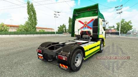 Rusty Marman skin for Renault truck for Euro Truck Simulator 2