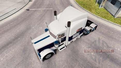 Skin National Guard for the truck Peterbilt 389 for American Truck Simulator