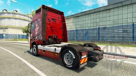Skin Of Logistics at Volvo trucks for Euro Truck Simulator 2