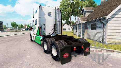 Skin DFS Danfreiht on tractor Peterbilt 387 for American Truck Simulator