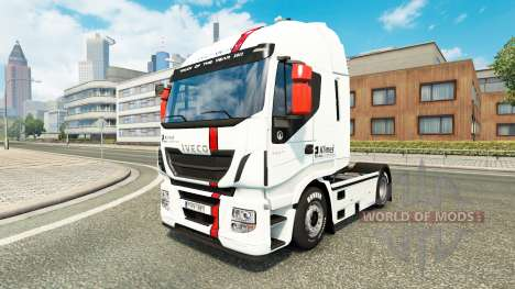 Skin Klimes for Iveco truck for Euro Truck Simulator 2