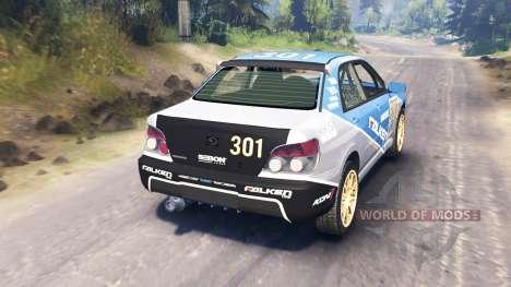 Subaru Impreza WRX 2007 for Spin Tires