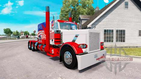 USA skin for the truck Peterbilt 389 for American Truck Simulator
