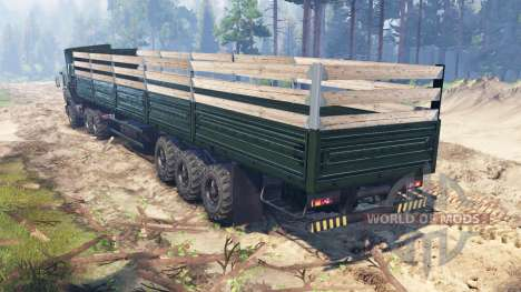 KamAZ-44108 [military] for Spin Tires