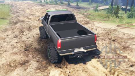 Chevrolet Silverado K1500 1997 for Spin Tires