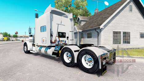 FTI Transport skin for the truck Peterbilt 389 for American Truck Simulator