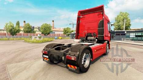 Norbert Dentressangle skin for Renault truck for Euro Truck Simulator 2