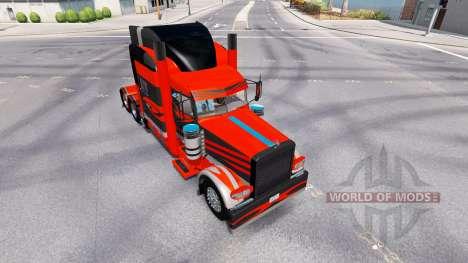 Skin for the truck Peterbilt 389 for American Truck Simulator