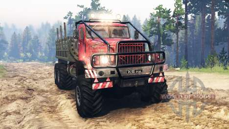 KrAZ-255 of the USSR for Spin Tires