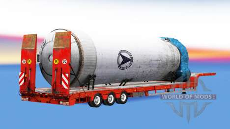 Low sweep heavy loads for American Truck Simulator