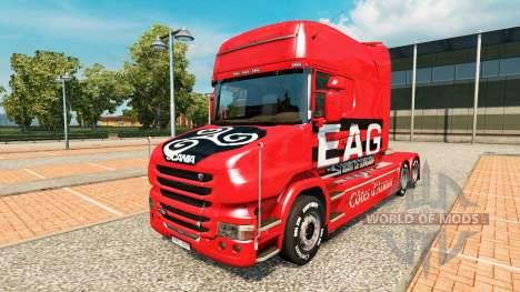 EAG skin for truck Scania T for Euro Truck Simulator 2