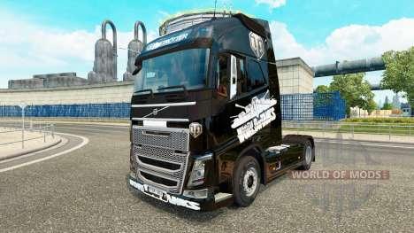 Skin World of Tanks on Volvo trucks for Euro Truck Simulator 2