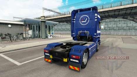 Mainfreight skin for Scania truck for Euro Truck Simulator 2
