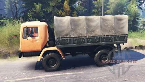 KAZ-4540 for Spin Tires