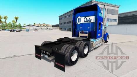 Skin Duke v1.03 on the truck Kenworth W900 for American Truck Simulator