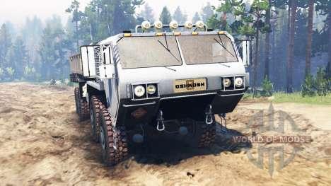 Oshkosh HEMTT M977 for Spin Tires
