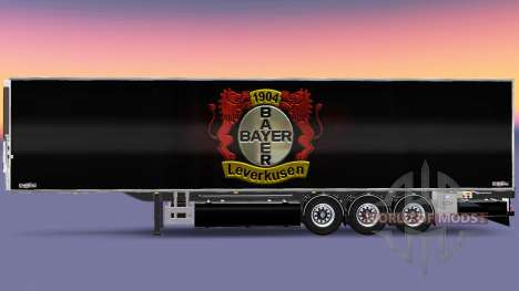 Semi-Trailer Chereau Bayer 04 Leverkusen for Euro Truck Simulator 2