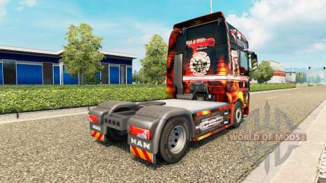 Support 81 skin for MAN truck for Euro Truck Simulator 2