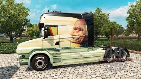 Scania T Longline [Free As A Bird] for Euro Truck Simulator 2