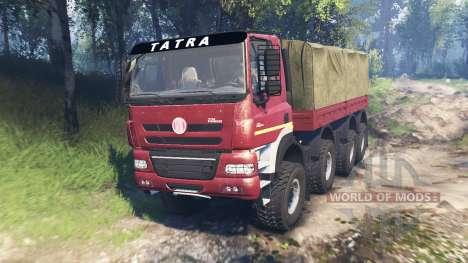 Tatra Phoenix T 158 8x8 v6.0 for Spin Tires