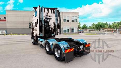 Скин Reworked Dalmatin на Freightliner Argosy for American Truck Simulator