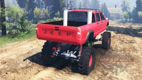 Jeep Grand Cherokee Comanche 4x4 v2.0 for Spin Tires