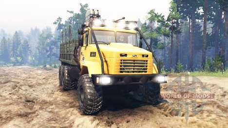 KrAZ-6322 USSR for Spin Tires