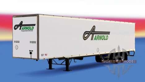 All-metal semitrailer Arnold for American Truck Simulator