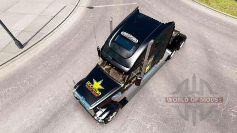 Скин Rockstar Energy на Freightliner Coronado for American Truck Simulator