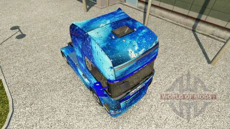 Skin Water on tractor Scania for Euro Truck Simulator 2