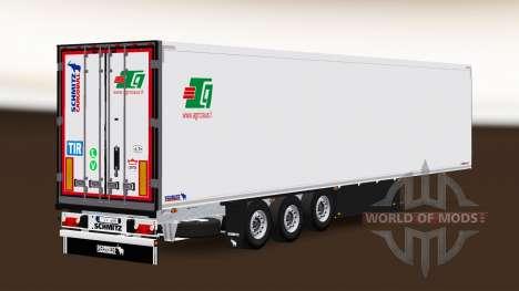 Semi-Trailer Schmitz Cargobull A. Griciaus for Euro Truck Simulator 2