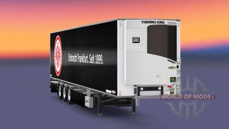 Semi-Trailer Chereau Eintracht Frankfurt for Euro Truck Simulator 2