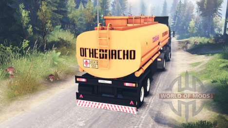 KamAZ-5460 for Spin Tires