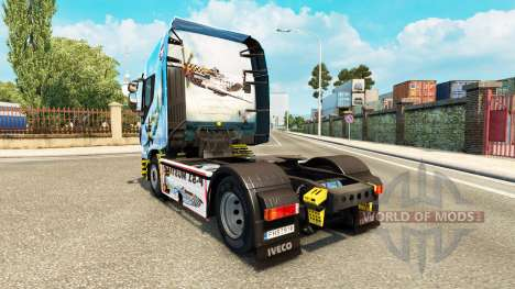 Skin North American P-51 Mustang on the truck Iv for Euro Truck Simulator 2