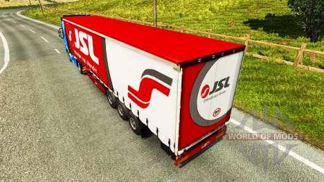 Skin Julio Simoes Logistic for semi for Euro Truck Simulator 2