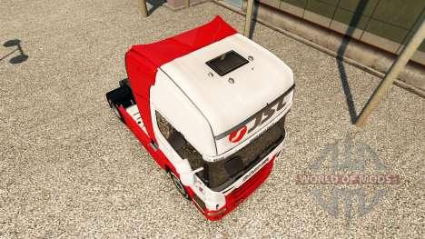 JSL skin for Scania truck for Euro Truck Simulator 2