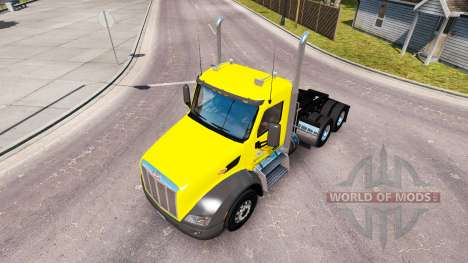 Skin Sweet Pete Day Cab on the Peterbilt tractor for American Truck Simulator