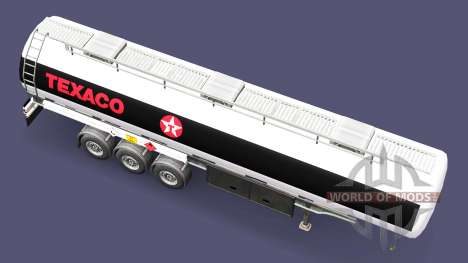 Fuel semi trailer Texaco for Euro Truck Simulator 2