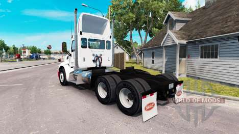 Simple skin for the truck Peterbilt for American Truck Simulator