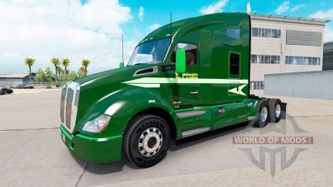 Skin Moving On for a Kenworth tractor for American Truck Simulator