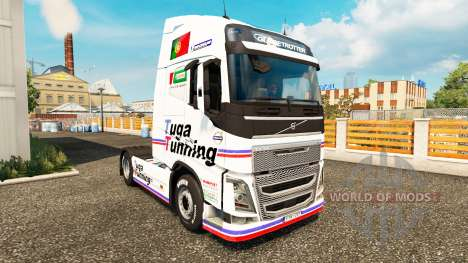 Tuga Tunning skin for Volvo truck for Euro Truck Simulator 2