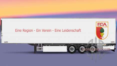 Semi-trailer Chereau FC Augsburg for Euro Truck Simulator 2