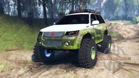 Suzuki Grand Vitara 2007 v3.0 for Spin Tires