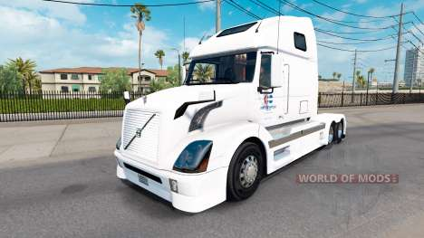 Skin North American for Volvo truck VNL 670 for American Truck Simulator